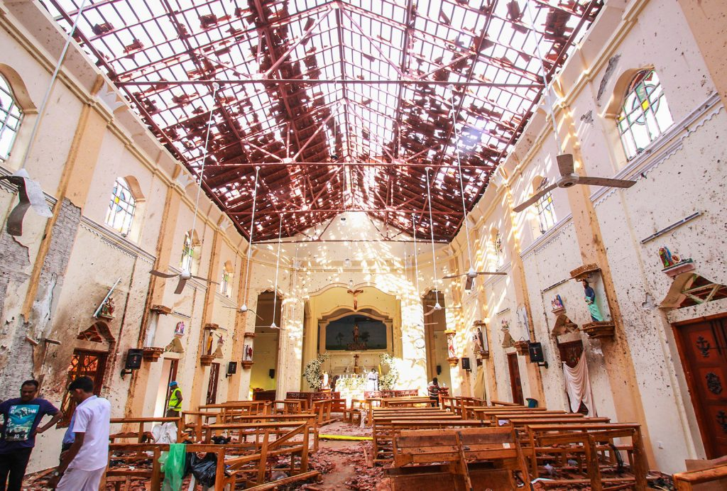 Sri Lanka - atentado