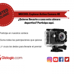 Copia de SORTEO MGCOOL Explorer Action Camera 4K