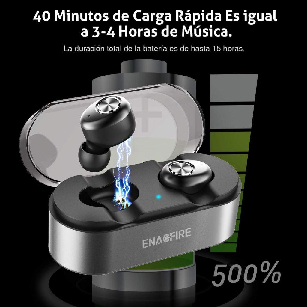 Enacfire E18, batería
