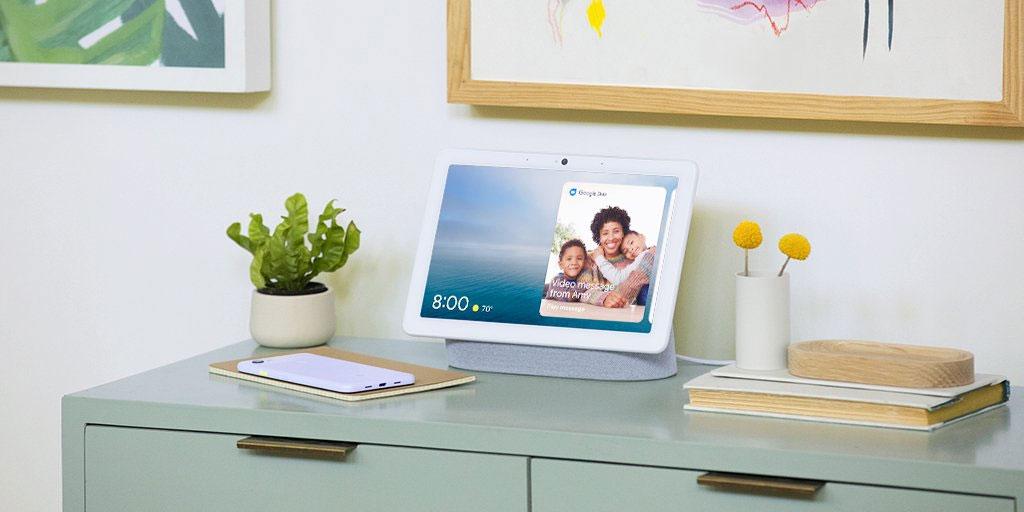 Google Pixel 3a y Nest Hub Max