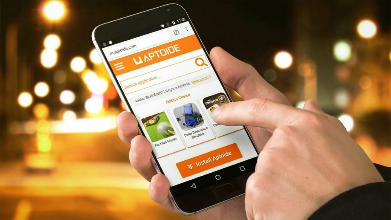 Huawei está considerando reemplazar la Google Play Store por Aptoide