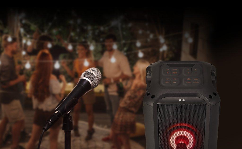 LG RL4, karaoke
