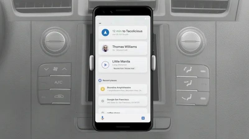 GoogleI/Odía 1: Modo de conducción para el asistente de Google