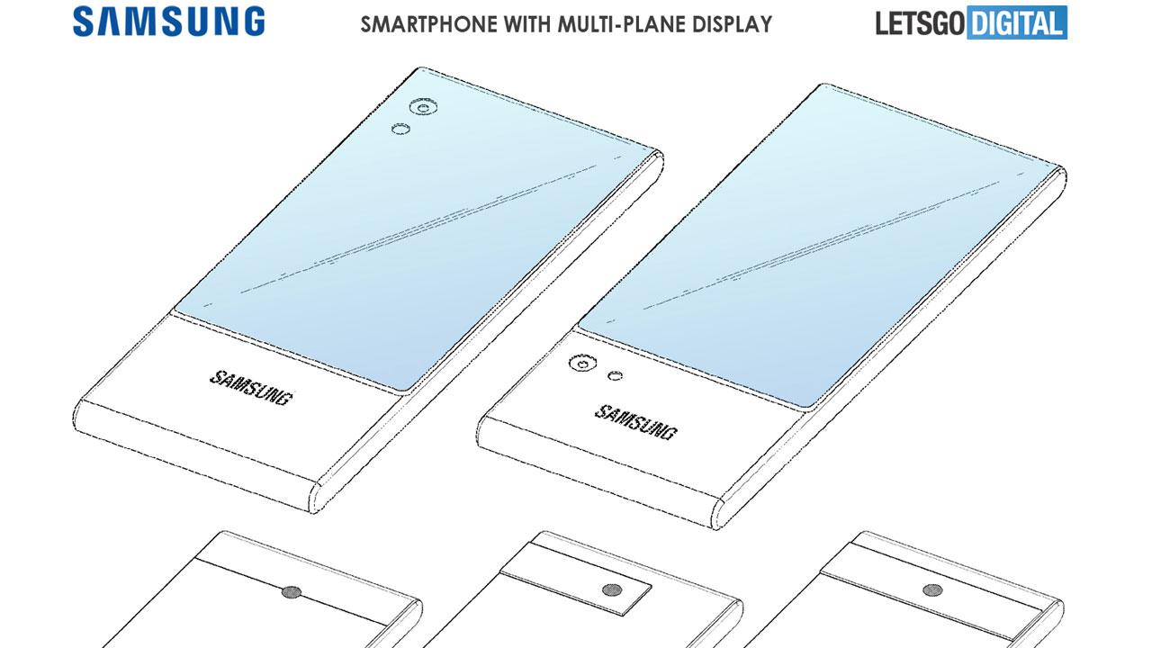 Samsung patenta un Smartphone con pantalla envolvente