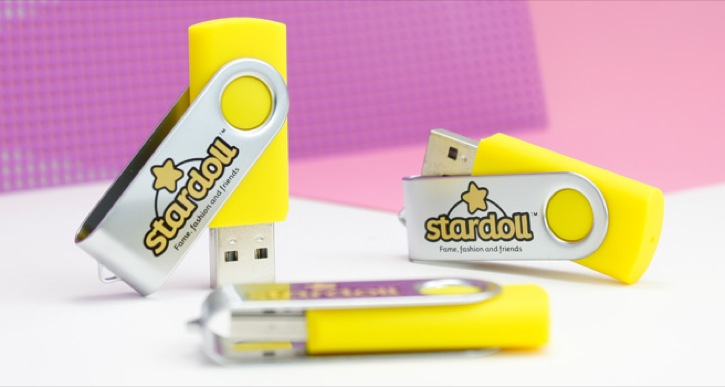 USB Twister, capacidad