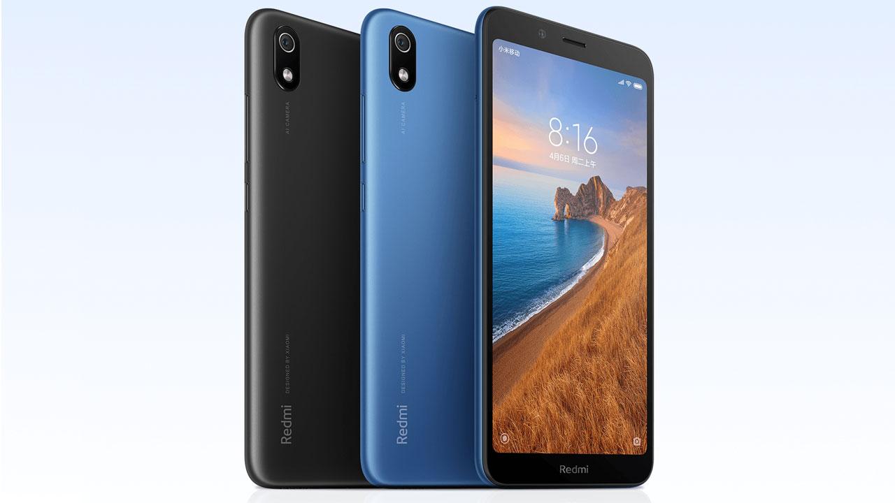 Xiaomi anuncia al Redmi 7A con Snapdragon 439 y pantalla de 5.45 pulgadas