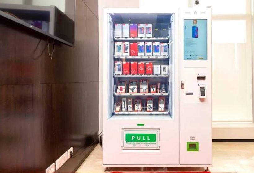 móviles xiaomi en máquinas expendedoras