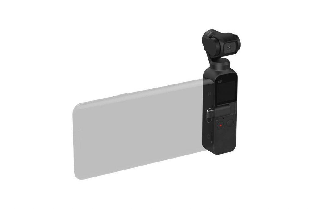 Dji Osmo Pocket, smartphone