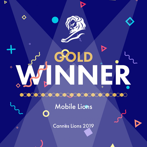 Gold - Cannes Lion 2019_mobile lions