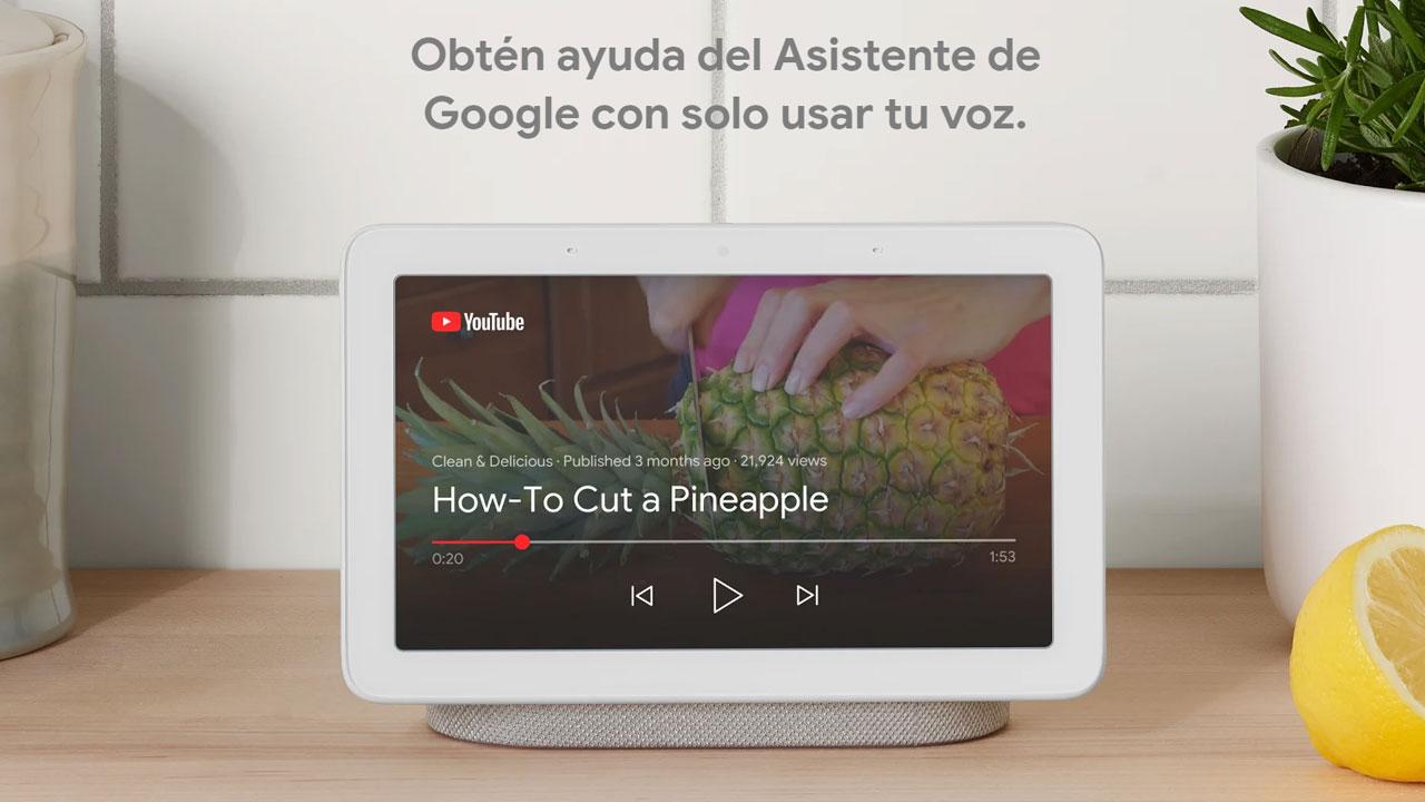 Google Nest Hub llega a España, el centro domótico con pantalla inteligente