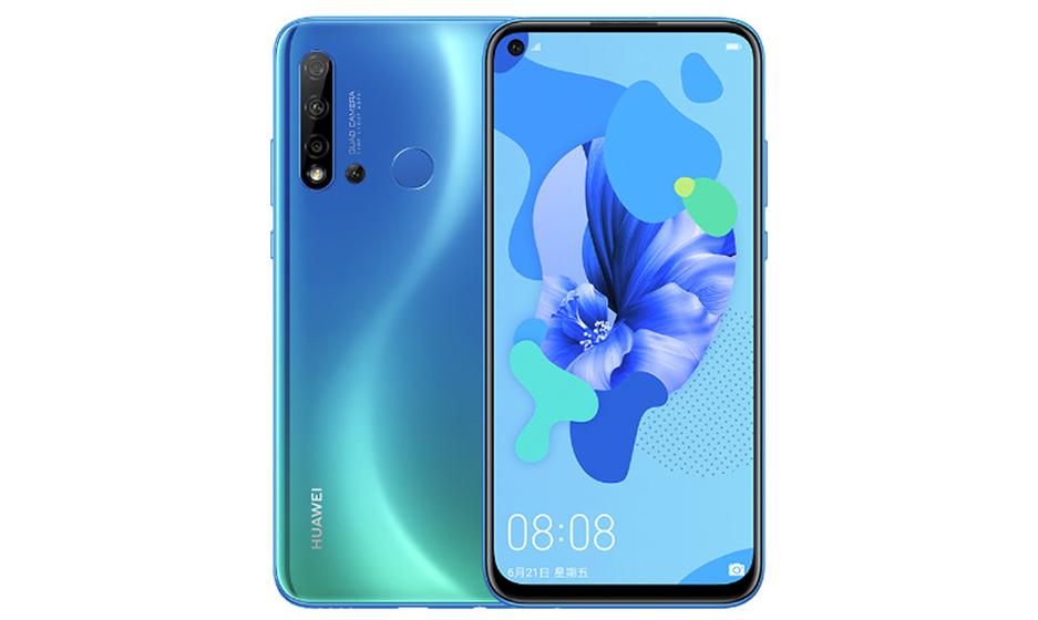 Huawei Nova 5i - Diseño y pantalla