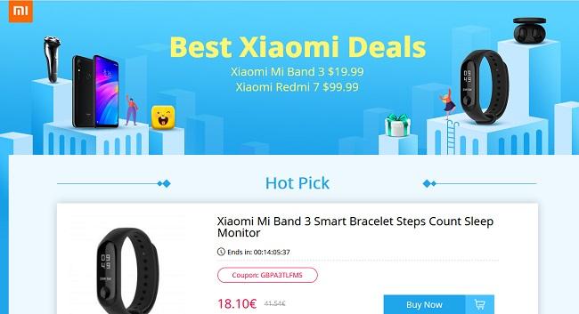 Promoción Xiaomi