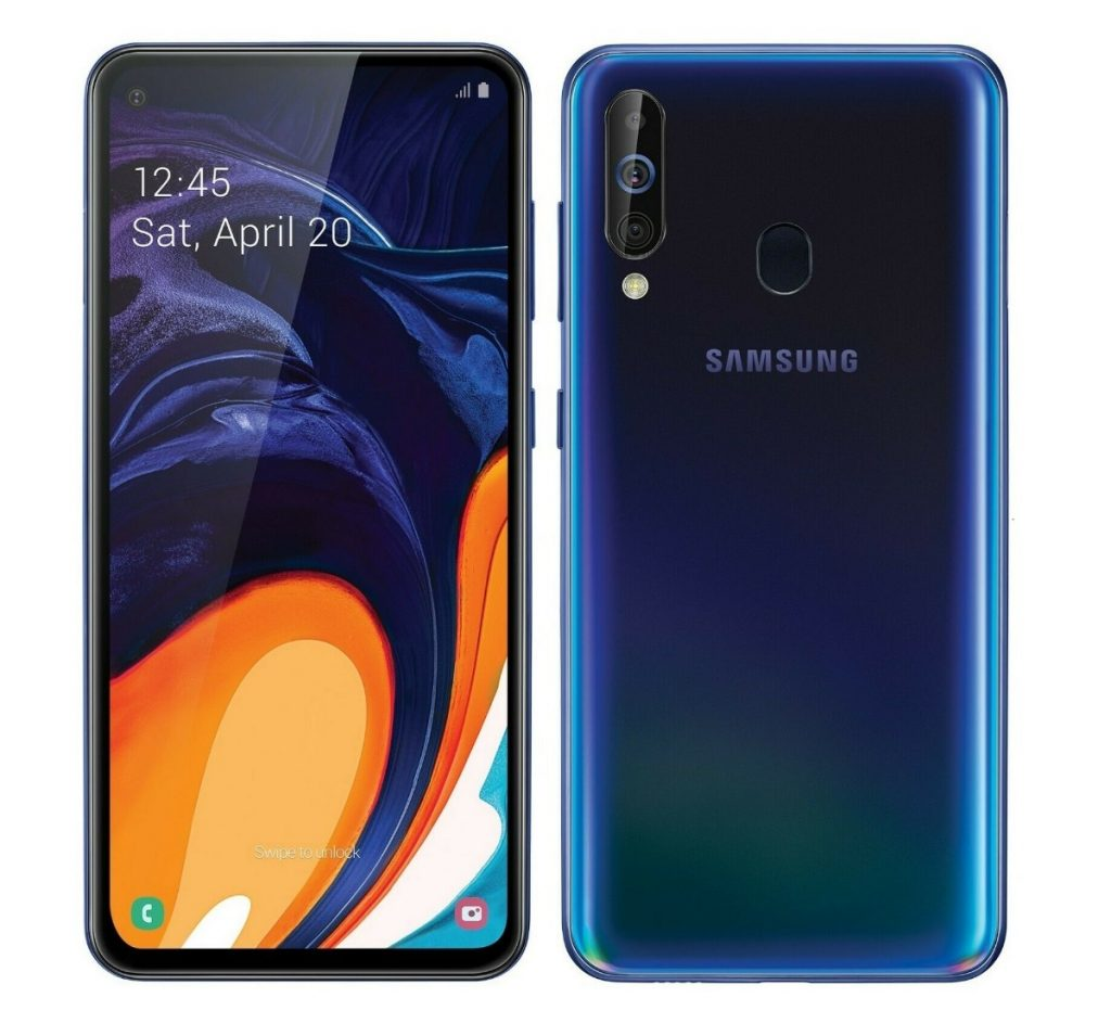 Samsung Galaxy A60, aspecto