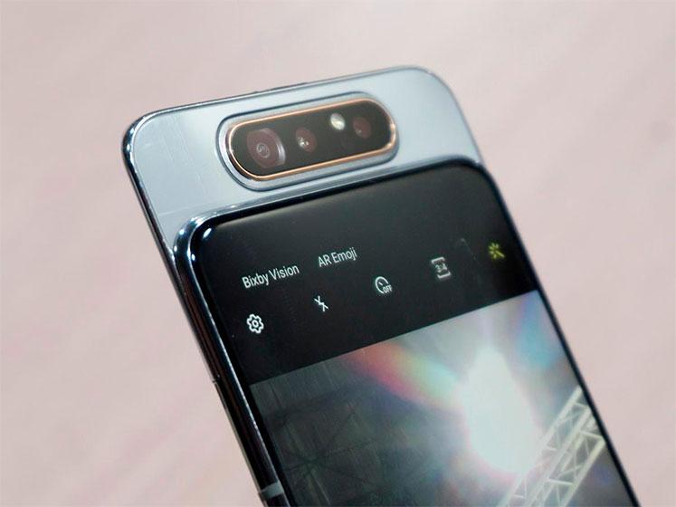Samsung Galaxy A80 - Cámara rotatoria