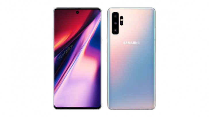 Samsung Galaxy Note 10 - Renders