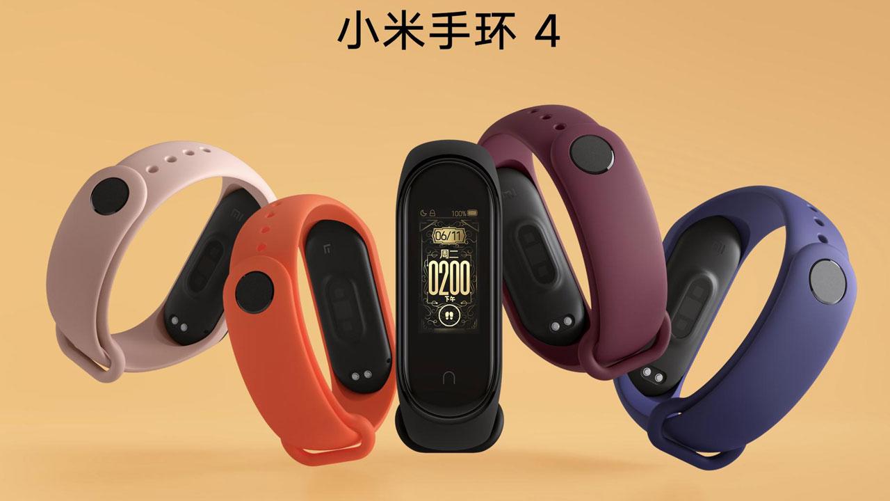 Xiaomi Mi Band 4, es oficial la esperada banda con pantalla a full color