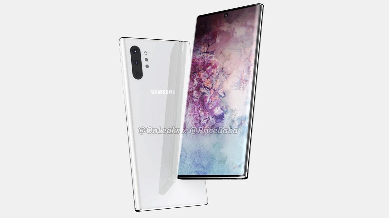El Samsung Galaxy Note 10 tendrá una etiqueta de precio de 999 euros