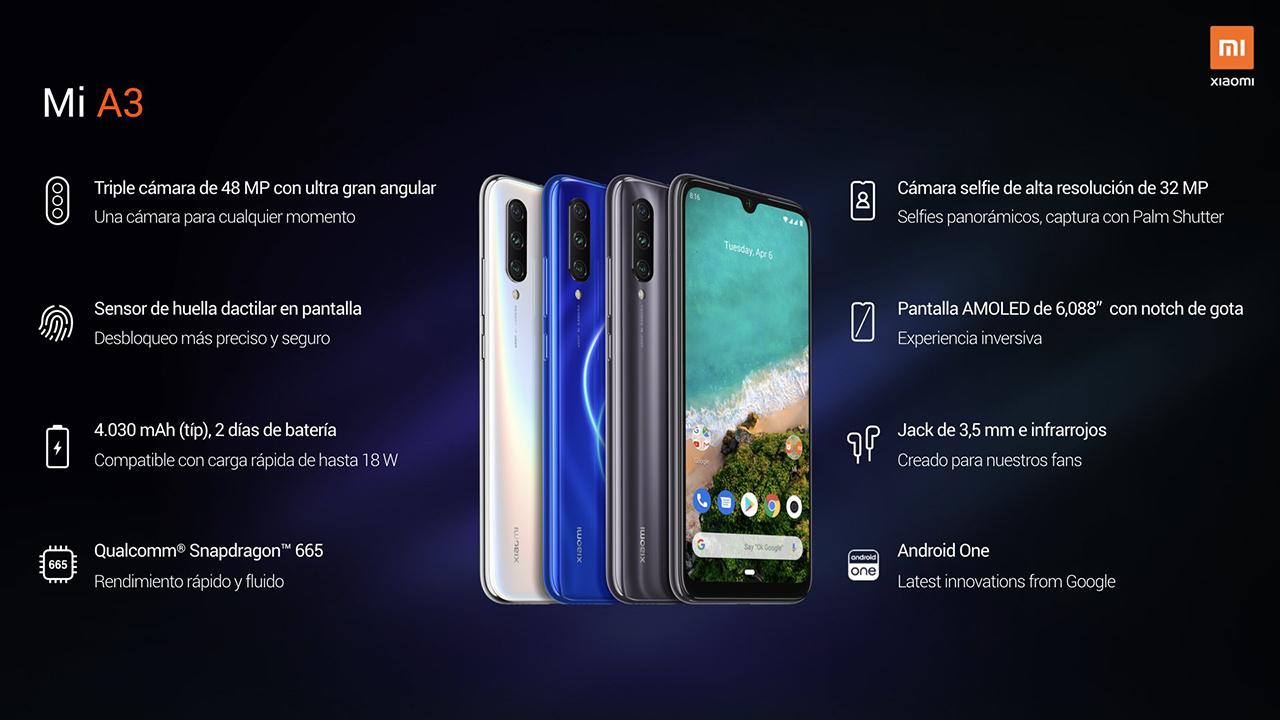 El Xiaomi Mi A3 llega a España, Android One y calidad imbatible