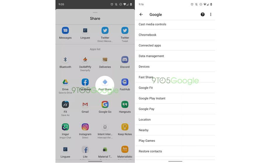 Fast share, comparte archivos con dispositivos cercanos sin necesidad de Internet