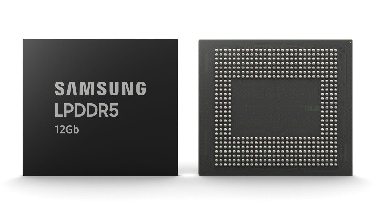 Samsung presenta su RAM de nueva generación LPDDR5 de 12GB