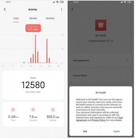 Xiaomi Mi Health