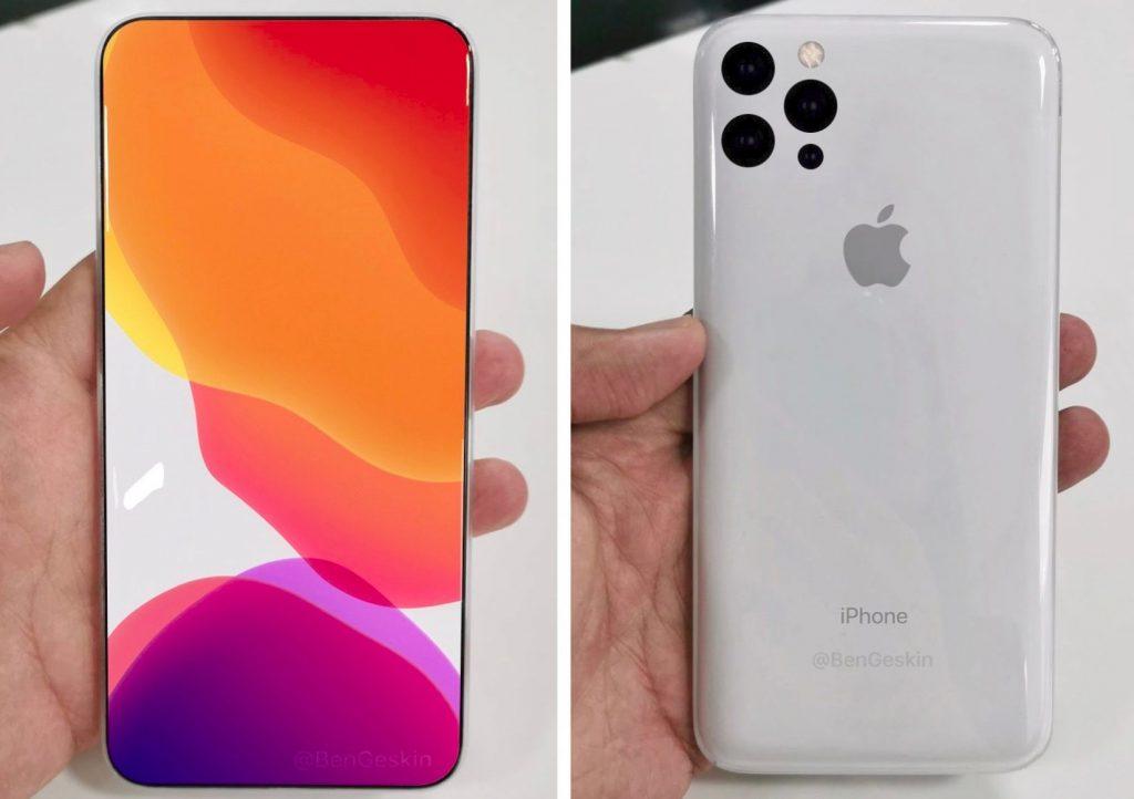 Concepto del iPhone 2019