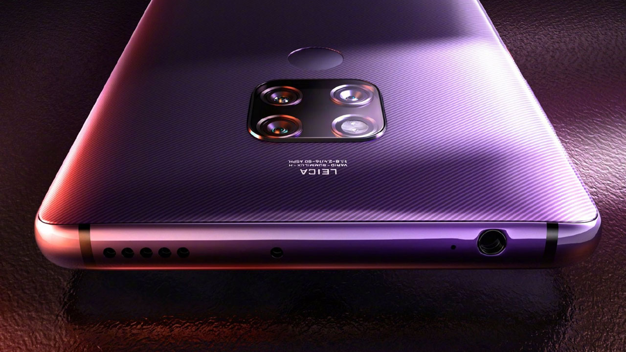 El Huawei Mate 30 Pro contará con dos sensores de 40MP y AirGlass