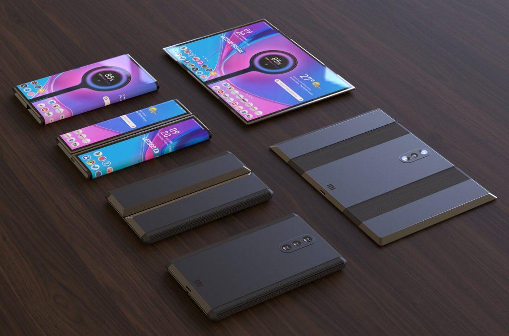 Posible apariencia del Smartphone plegable de Xiaomi