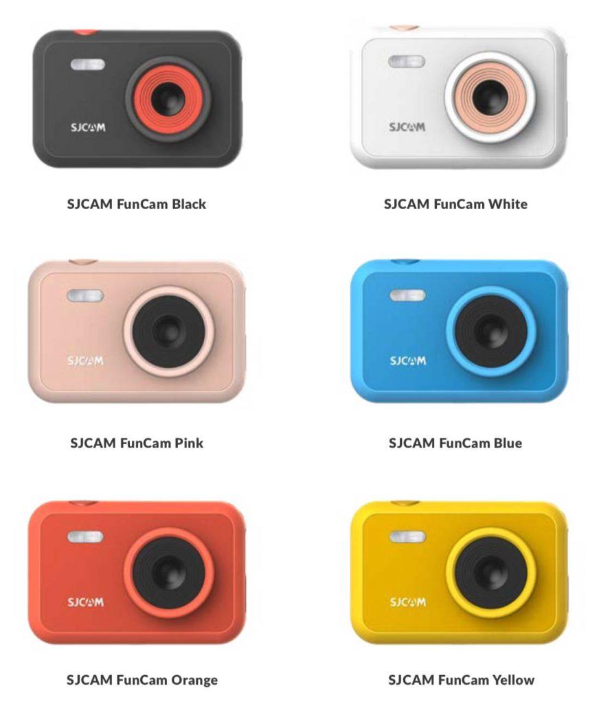 SJCAM Funcam, colores