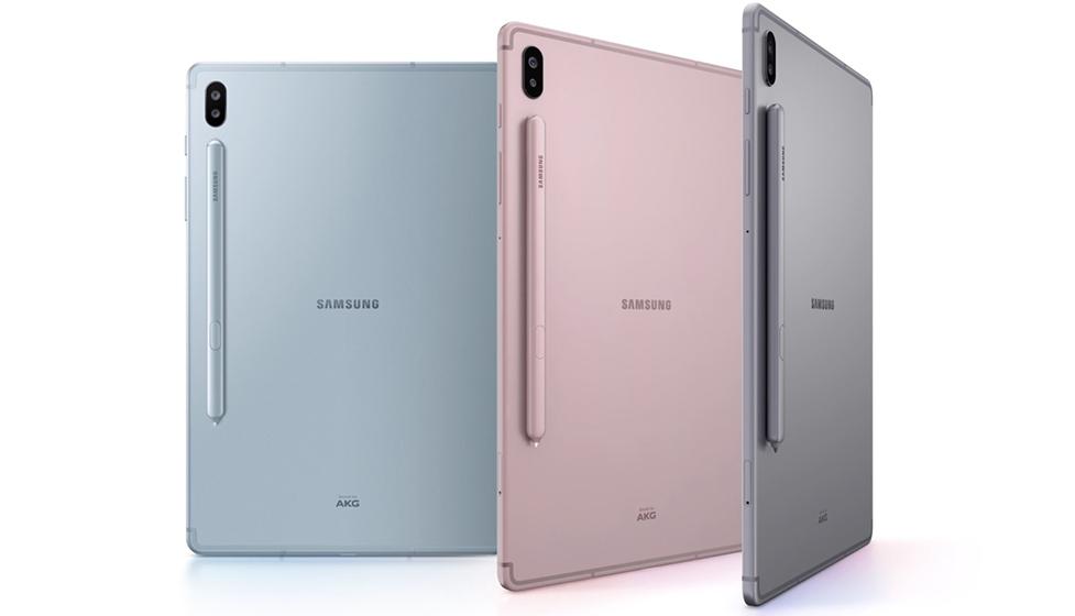 Samsung Galaxy Tab S6 - Colores