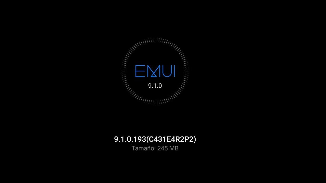 emui 9.1.0.193 actualizacion