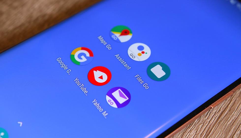 Android 10 Go Edition - Aplicaciones