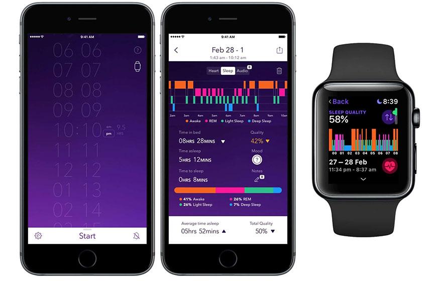 Apple trabaja en un monitor de sueño nativo para el Apple Watch