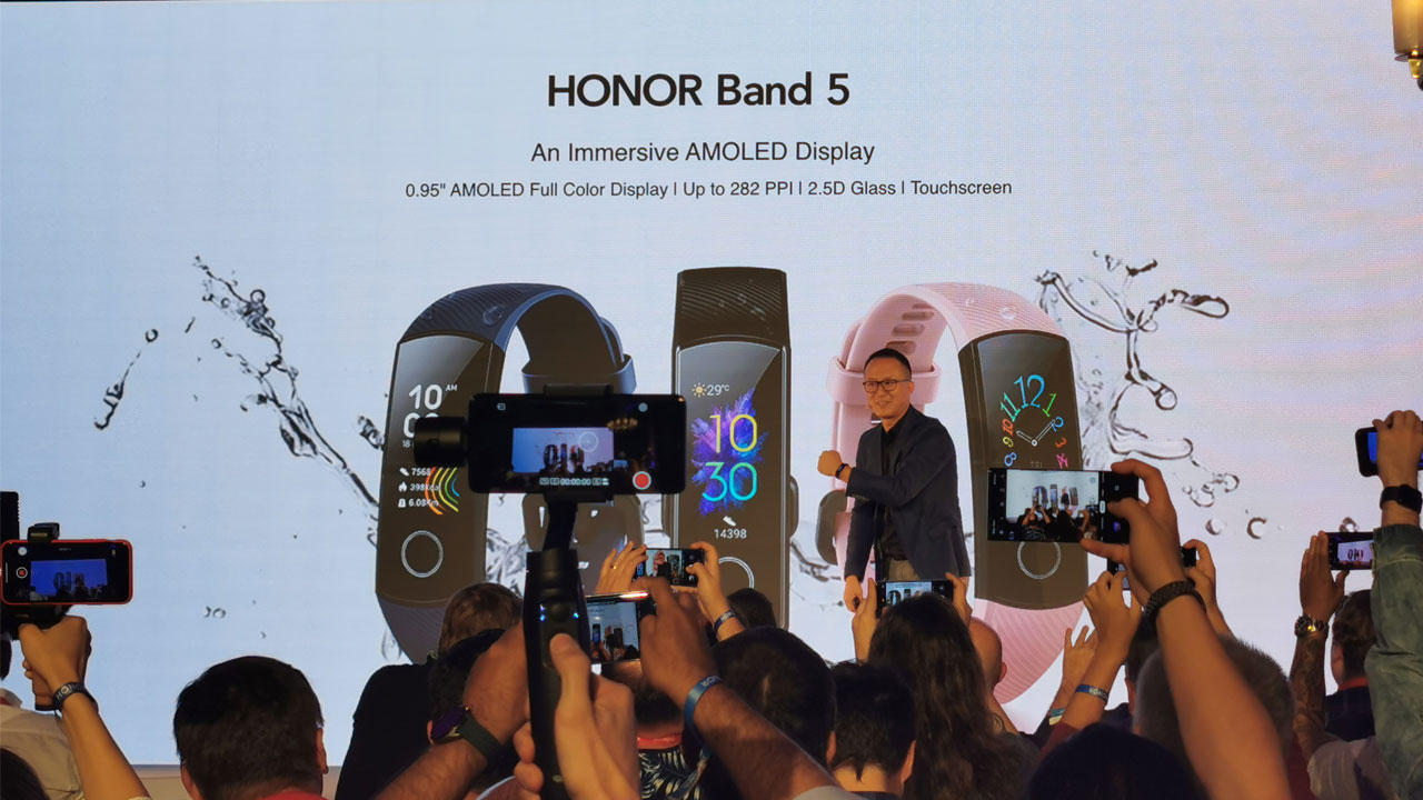 IFA19 - La Honor Band 5 llega a España con tecnología Huawei TruSeen 3.0
