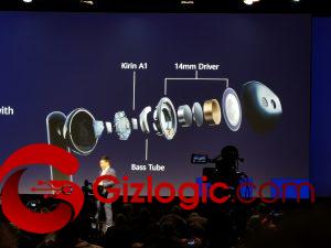 IFA19: Huawei FreeBuds 3, Driver de 14mm