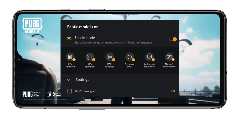 OnePlus 7T - Fnatic Mode