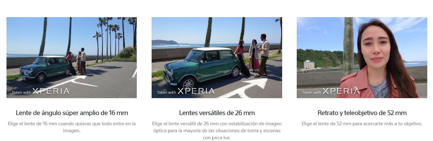 Sony Xperia 5 - Cámara