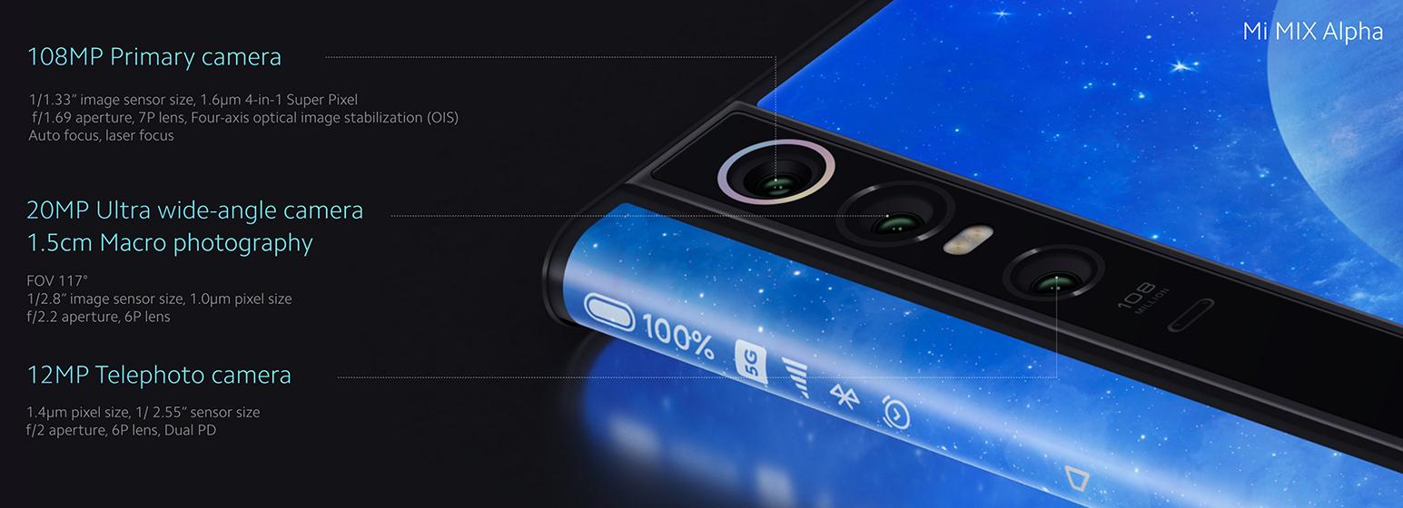 Xiaomi Mi MIX Alpha - Cámaras