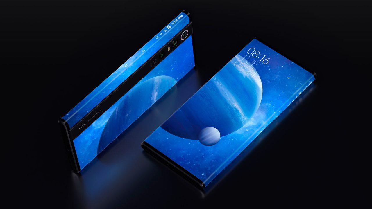 Xiaomi Mi MIX Alpha, un móvil con pantalla envolvente, cámara de 108MP y 5G