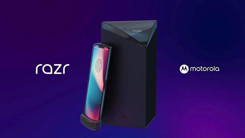 Así será el Motorola RAZR 2019 - Renders
