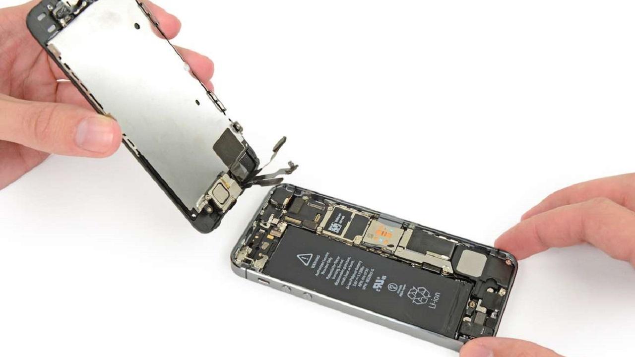 Cambiar pantalla teléfono