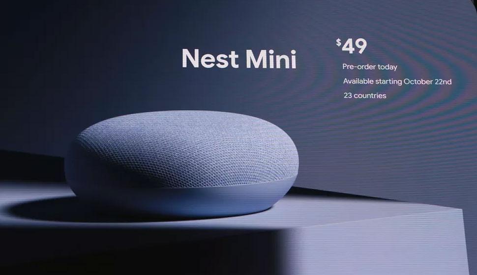 Google Nest Mini - Precio
