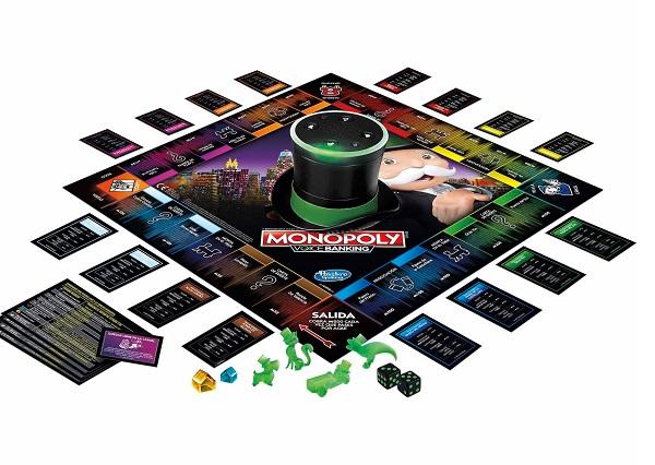 monopoly con asistente de voz