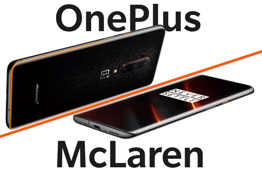 OnePlus 7T Pro - MacLaren Edition