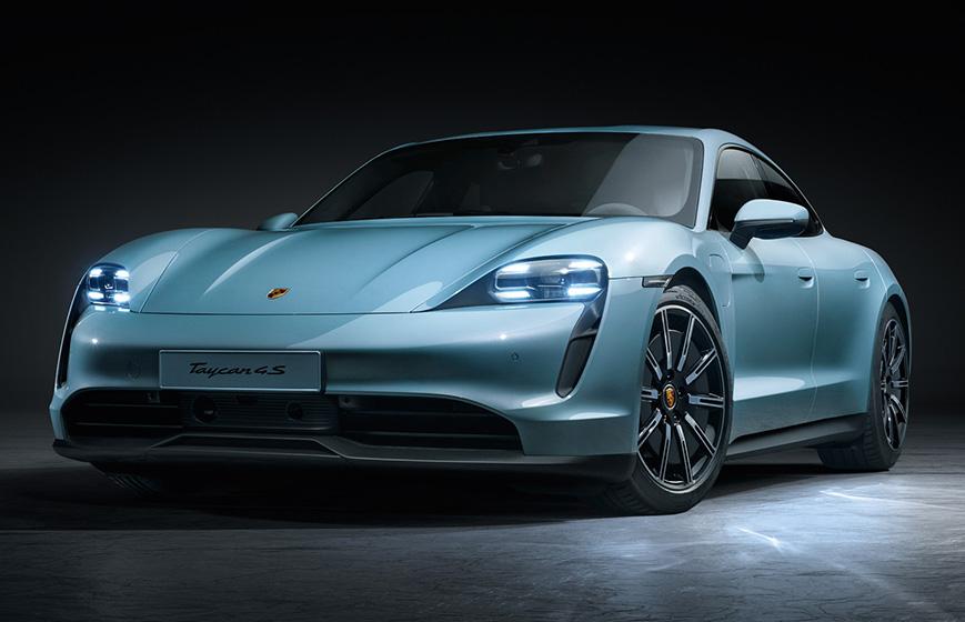 Porsche Taycan 4S - Diseño
