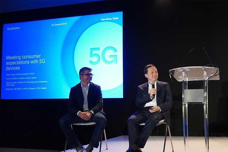 Qualcomm - cumbre 5G de Barcelona
