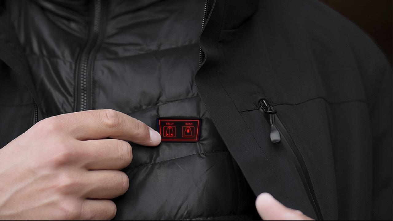 chaqueta con calefacción de Xiaomi 2