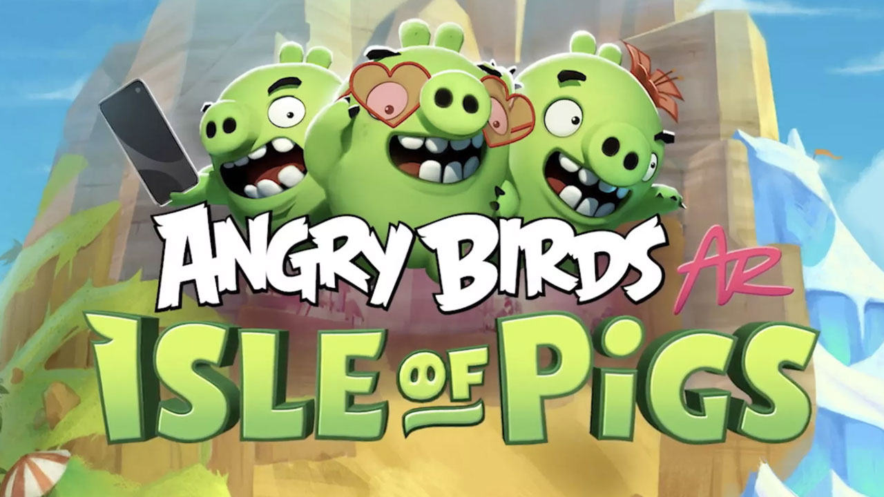 Angry Birds AR Isle of Pigs ya está disponible para Android
