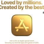 Apple celebrará un evento en Nueva York para premiar las mejores apps y juegos