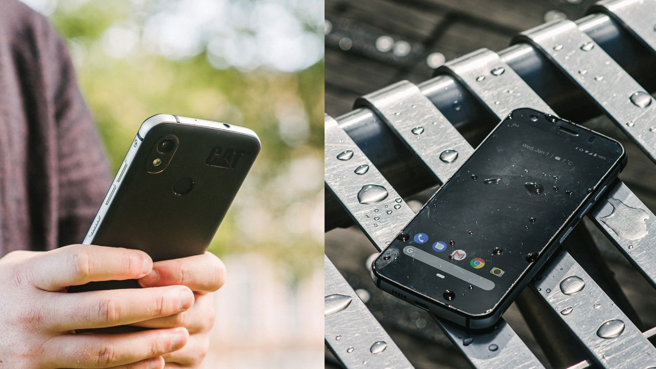 Cat S52, nuevo smartphone rugerizado con diseño delgado y elegante